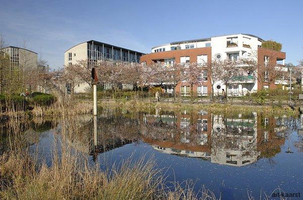 Bebauung Stadtsee
