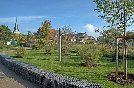 "Stele ""Pilgerin"" am Martinus-Kunstweg"