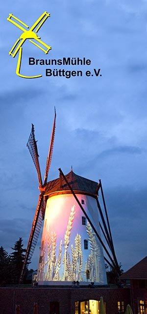 Illumination BrausnMühle, Foto Klaus Stevens