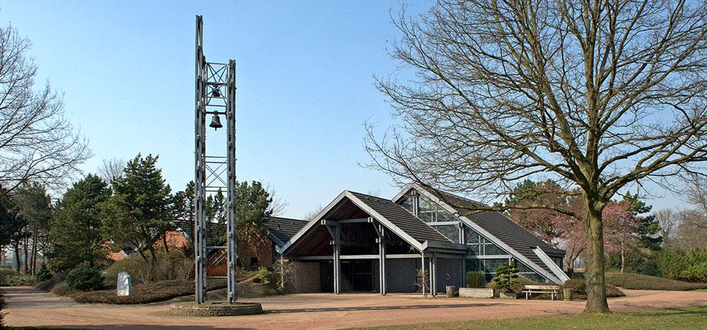 Innenansicht neue Kapelle Kaarst