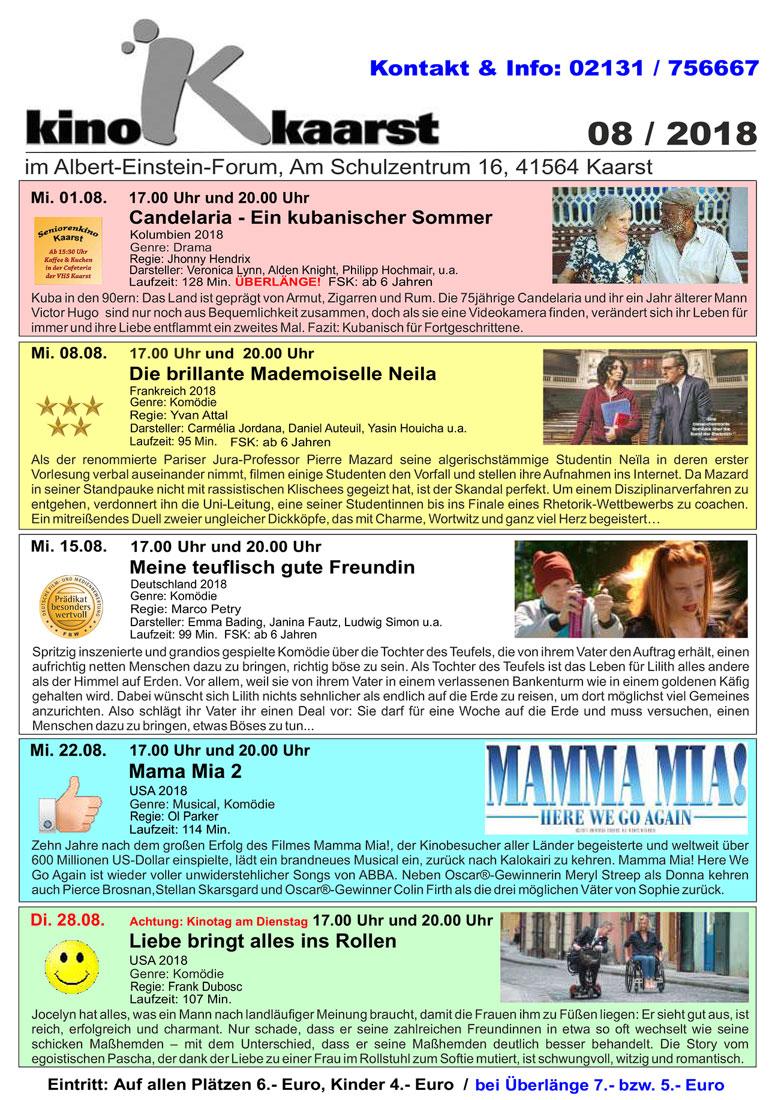 Das Augustprogramm